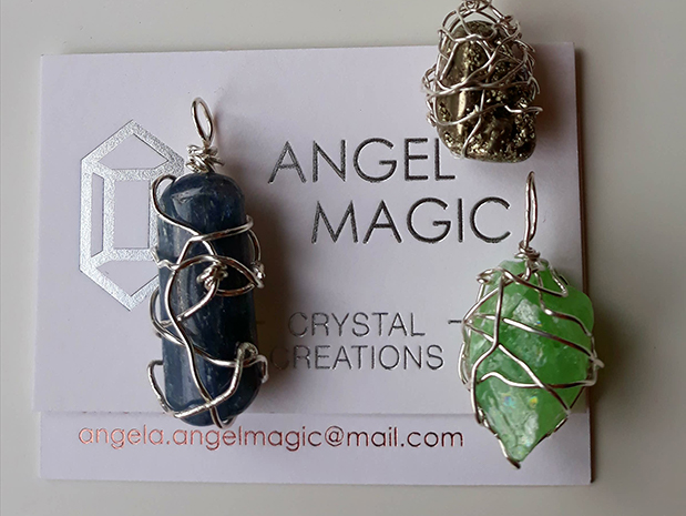 Kyanite, Pyrite and Green Calcite